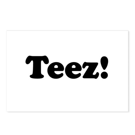 Teez! Postcards (Package of 8)
