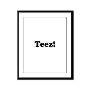 Teez! Framed Panel Print