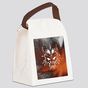 Diabolic, fire Canvas Lunch Bag