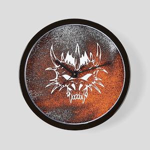 Diabolic, fire Wall Clock