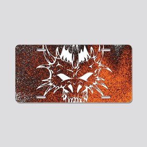 Diabolic, fire Aluminum License Plate