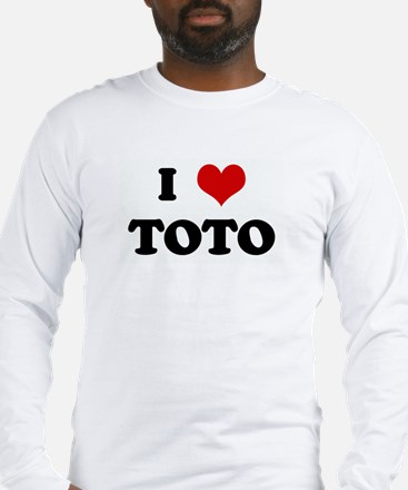 I Love TOTO Long Sleeve T-Shirt