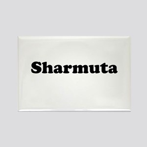 Sharmuta Rectangle Magnet