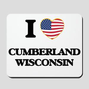 I love Cumberland Wisconsin Mousepad