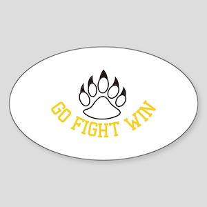 Go Fight Win Sticker