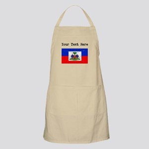 Haiti Flag (Distressed) Apron
