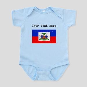 Haiti Flag (Distressed) Body Suit