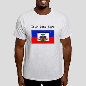 Haiti Flag (Distressed) T-Shirt