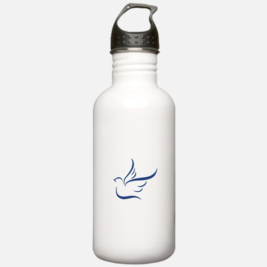 Abstract Dove Water Bottle