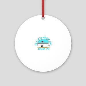 Park It Ornament (Round)