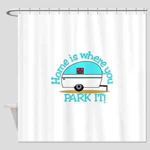 Park It Shower Curtain