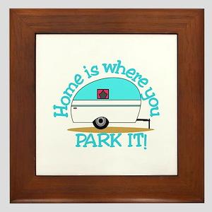 Park It Framed Tile