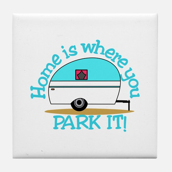 Park It Tile Coaster
