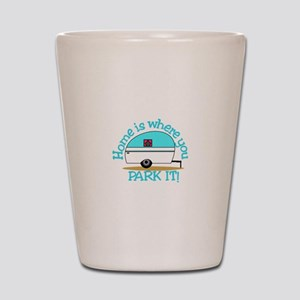 Park It Shot Glass