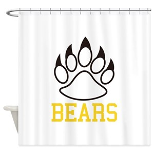 Chicago Bear Shower Curtains