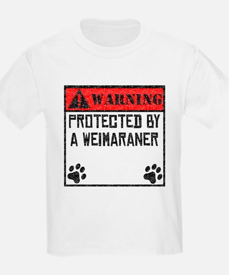 Protected By A Weimaraner T-Shirt