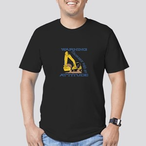 Warning Excavator With An Attitude T-Shirt
