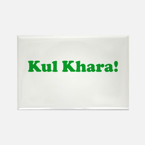 Kul Khara Rectangle Magnet