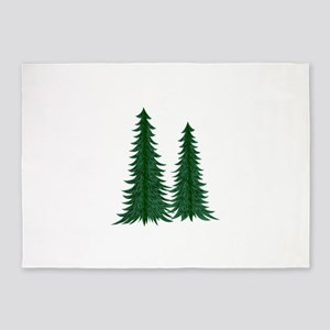 Trees 5'x7'Area Rug