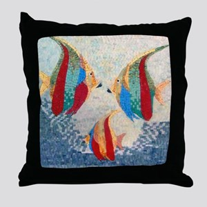 Angel Fish Throw Pillow