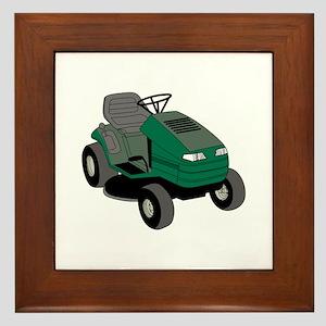 Lawnmower Framed Tile