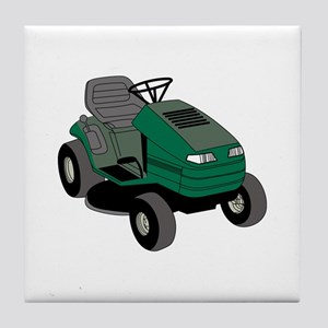 Lawnmower Tile Coaster