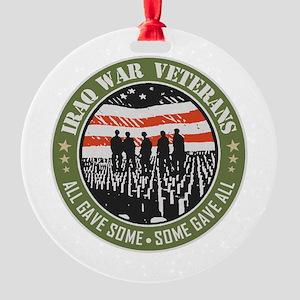 Iraq War Veterans Ornament
