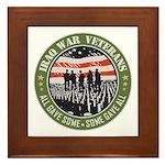Iraq War Veterans Framed Tile