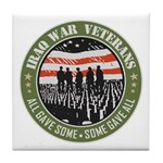 Iraq War Veterans Tile Coaster