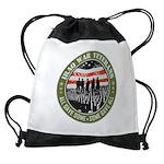 Iraq War Veterans Drawstring Bag