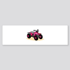 Four Wheeler Bumper Sticker