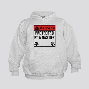 Protected By A Mastiff Hoodie