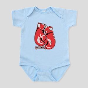 Boxing Gloves Infant Bodysuit