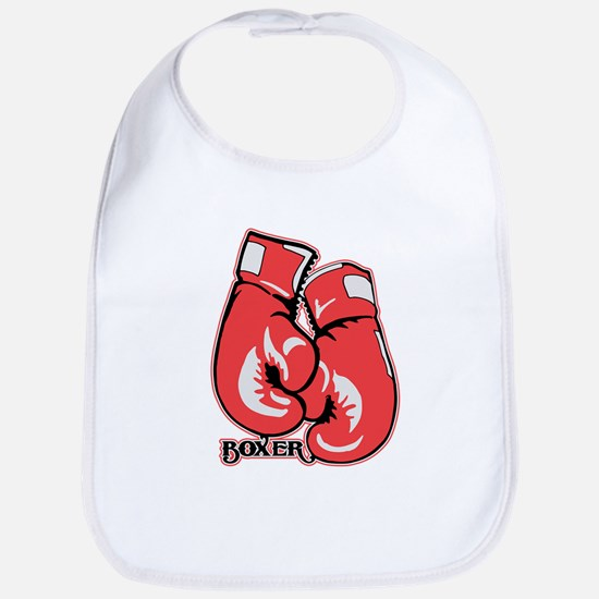 Boxing Gloves Bib