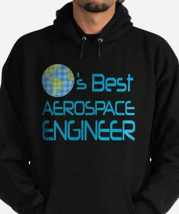 aerospace engineer Hoodie (dark)