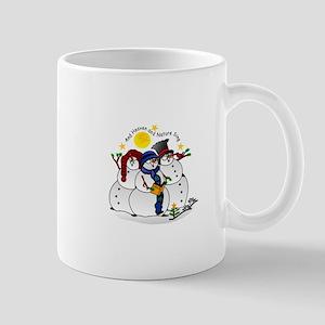 Snowmen Caroling Mugs