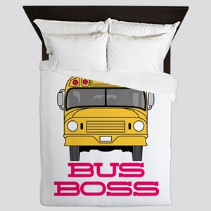 Bus Boss Queen Duvet