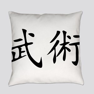 martial arts Everyday Pillow