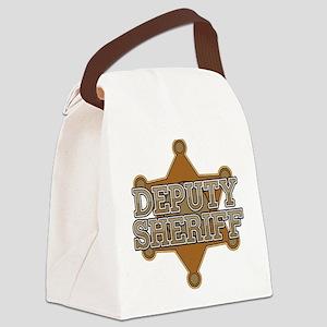 Deputy Sheriff Canvas Lunch Bag