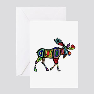 MOOSE STYLED Greeting Cards
