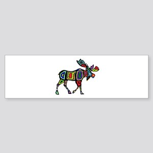 MOOSE STYLED Bumper Sticker