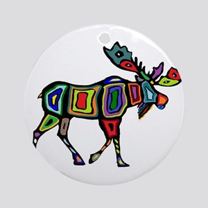 MOOSE STYLED Round Ornament