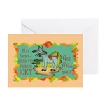 Get Well Goat Greeting Cards (Pk of 20)