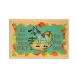 Get Well Goat Rectangle Magnet
