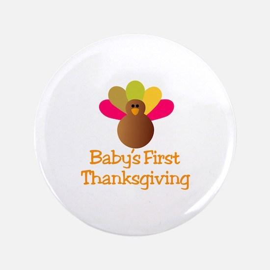 First Thanksgiving Button