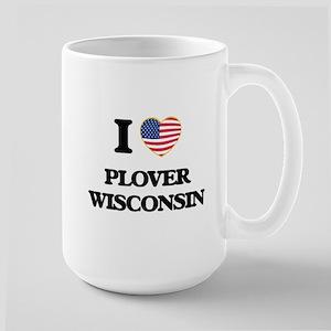 I love Plover Wisconsin Mugs