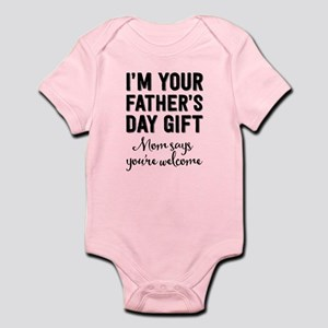 Father's Day Gift Infant Body Suit