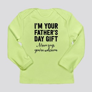 Father's Day Gift Infant Long Sleeve T-Shirt