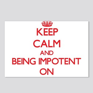 Keep Calm and Being Impot Postcards (Package of 8)