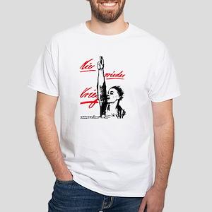 Anti-War White T-Shirt